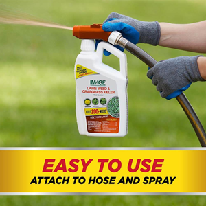 Easy to use. Just attach to hose and spray.